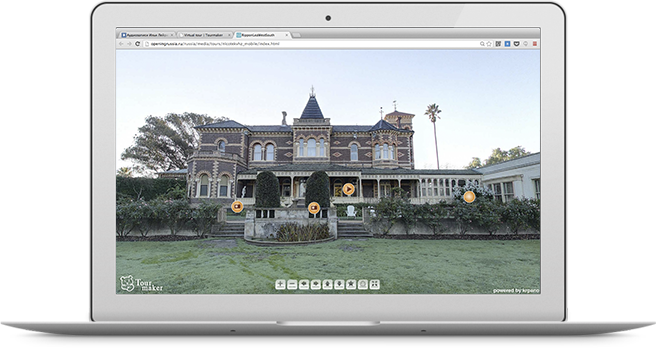 Free web service for virtual tour creation (software) | Tourmaker